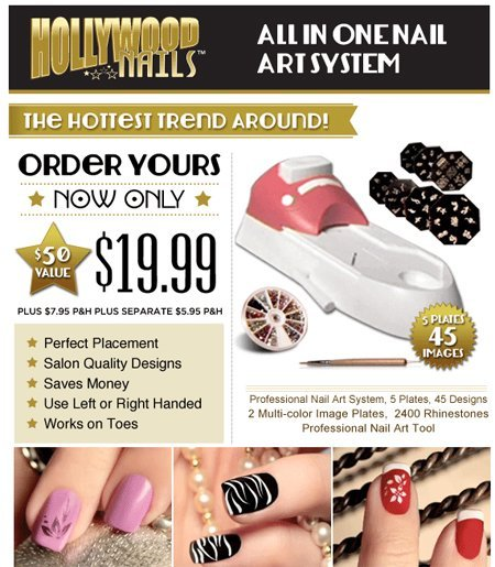 Hollywood Nails Canada As Seen On Tv Canada