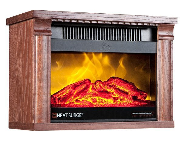 Heat Surge Mini Glo Electric Fireplace As Seen On Tv Canada