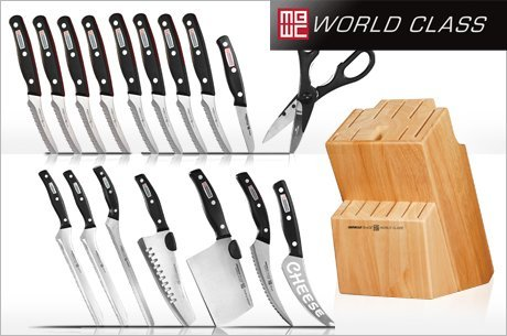 Home/Kitchen/Miracle Blade World Class Knives. ; 