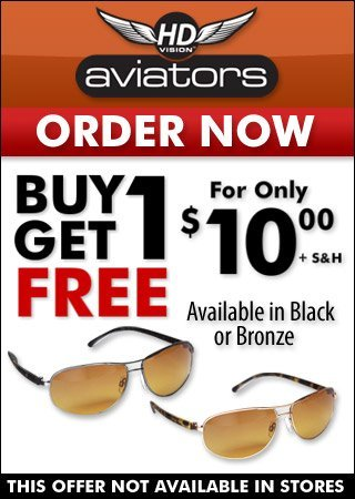 hd aviator sunglasses  HD Aviator Sunglasses