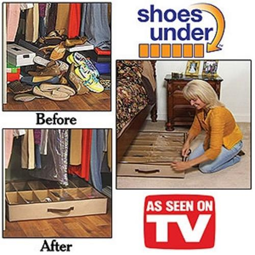 shoes under shoe organizer