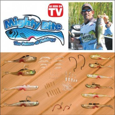 Mighty bite nano 5 sense fishing lure system for Fishing lure as seen on tv
