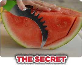 slice right watermelon slicer
