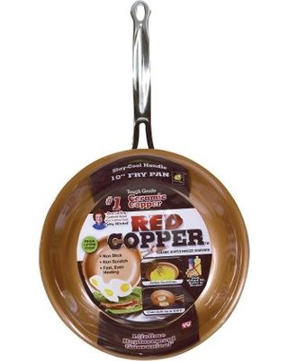 red copper pan | as seen on tv canada