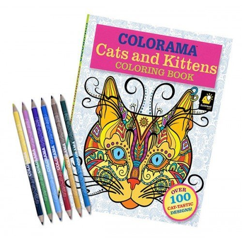 Colorama Cats Amp Kitten Coloring Book