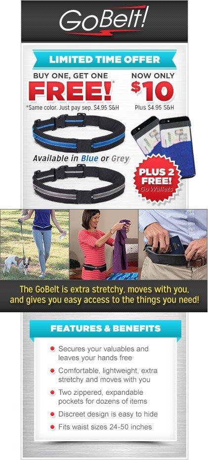 go belt stretchable belt